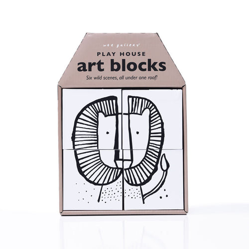 WEE GALLERY ART BLOCKS | WILD