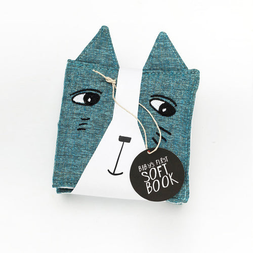 Wee Gallery Soft Cat Book
