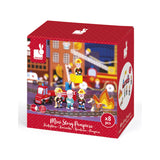 Wooden Mini Story Set - Firefighters