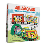 all aboard train matching game marc boutavant