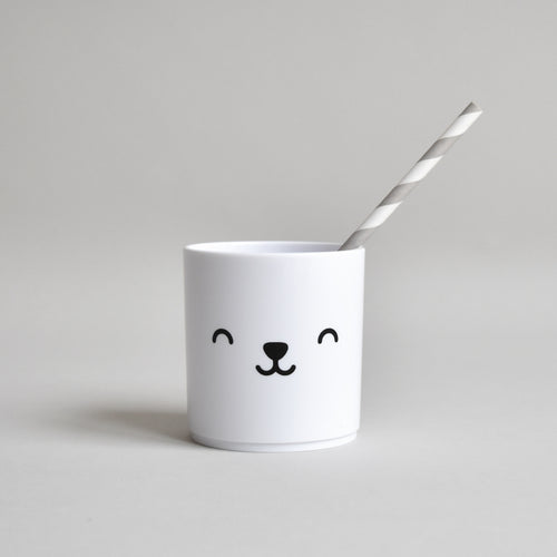 Bear Tumbler | White Edition