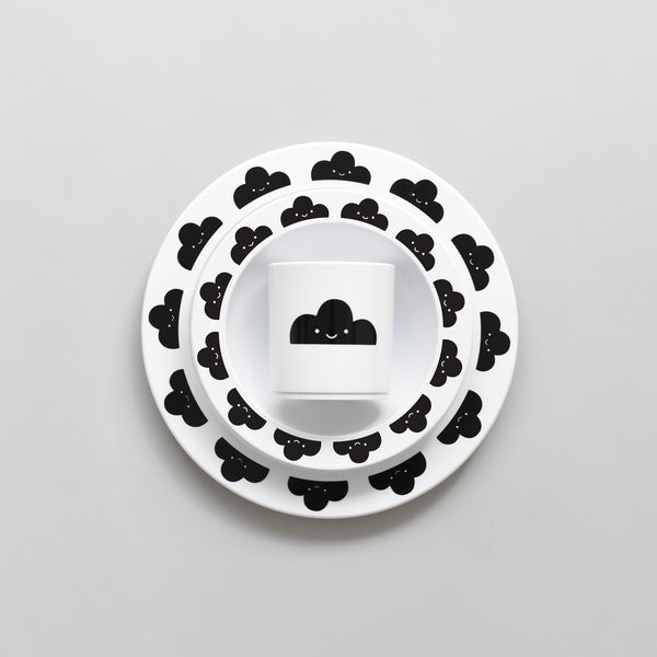 Happy Clouds Plate