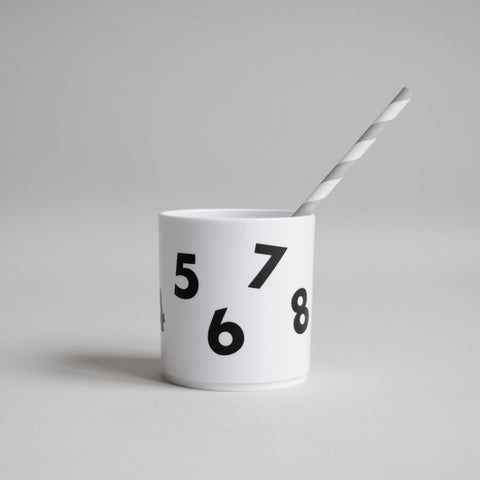 Number Tumbler | White Edition
