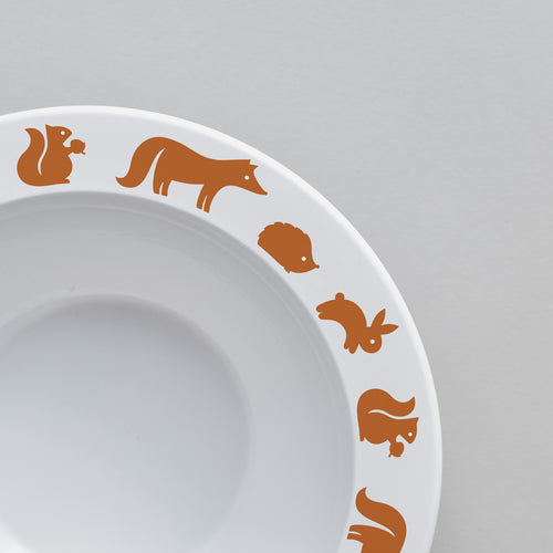 Woodland Animal Bowl | Cinnamon