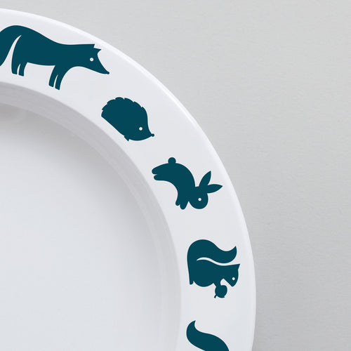Woodland Animal Plate | Ink