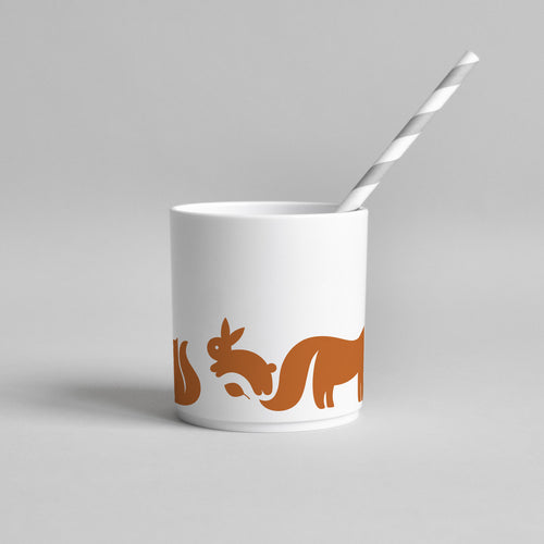 Woodland Animal Tumbler | Cinnamon