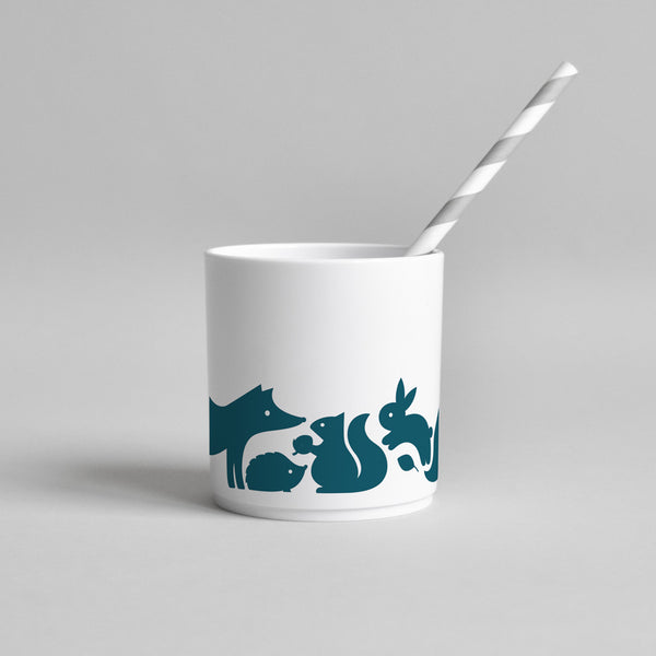 Woodland Animal Tumbler | Ink