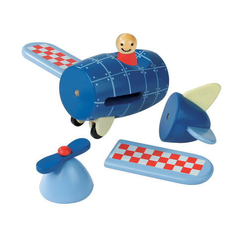 Wooden Magnetic Airplane