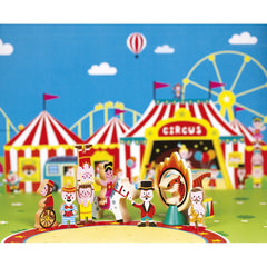 Wooden Mini Story Set - Circus