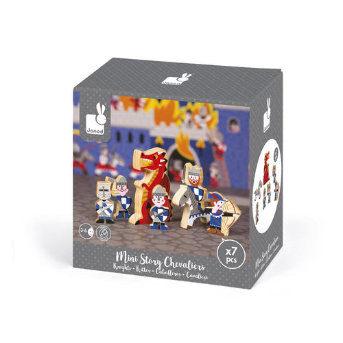 Wooden Mini Story Set - Knights