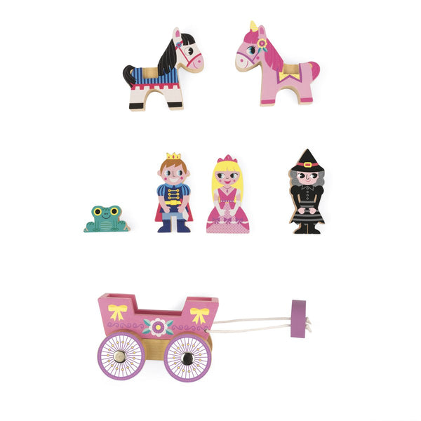 Wooden Mini Story Set - Princesses