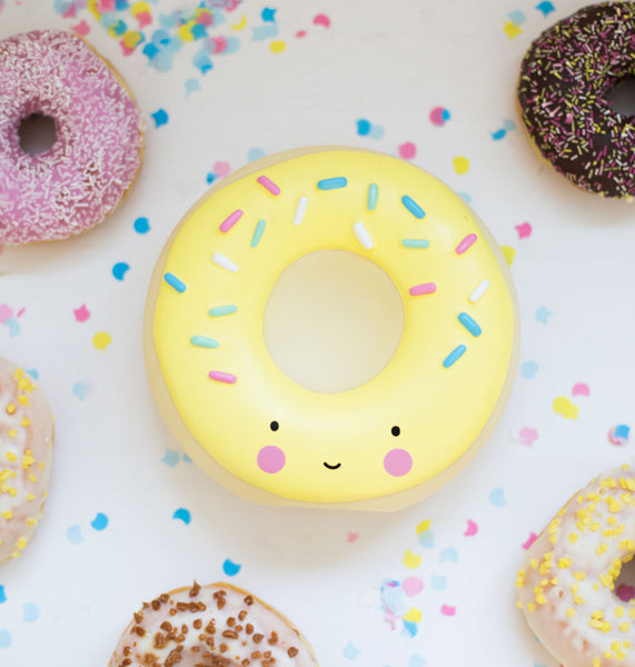 Donut Money Box | Yellow