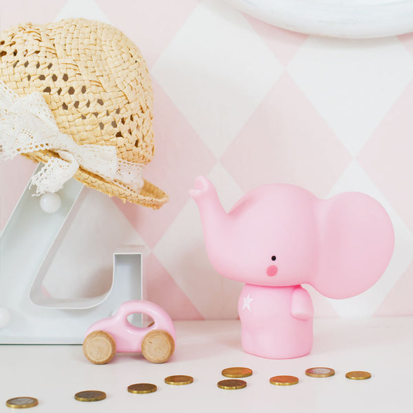 Elephant Money Box | Pink