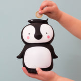 A little Lovely Company penguin money box