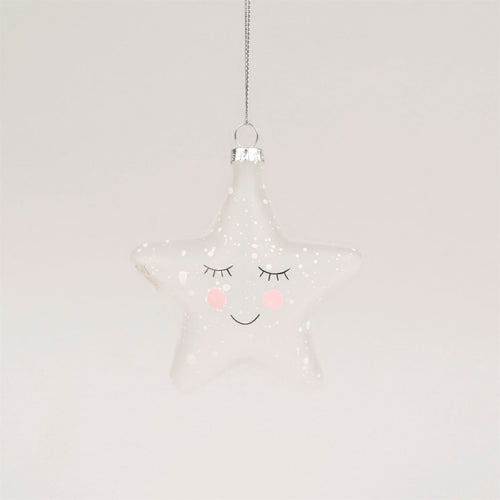 Speckled Star Bauble