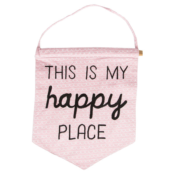 This Is My Happy Place Banner Flag