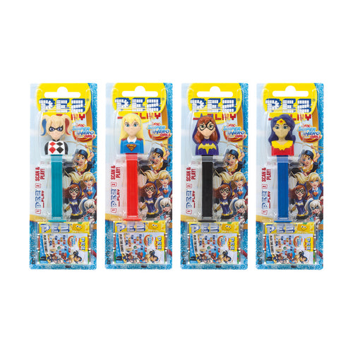 Dc Super Girls Pez