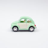 White Door VW Beetle | Pastel Green