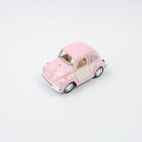 White Door VW Beetle | Pastel Pink
