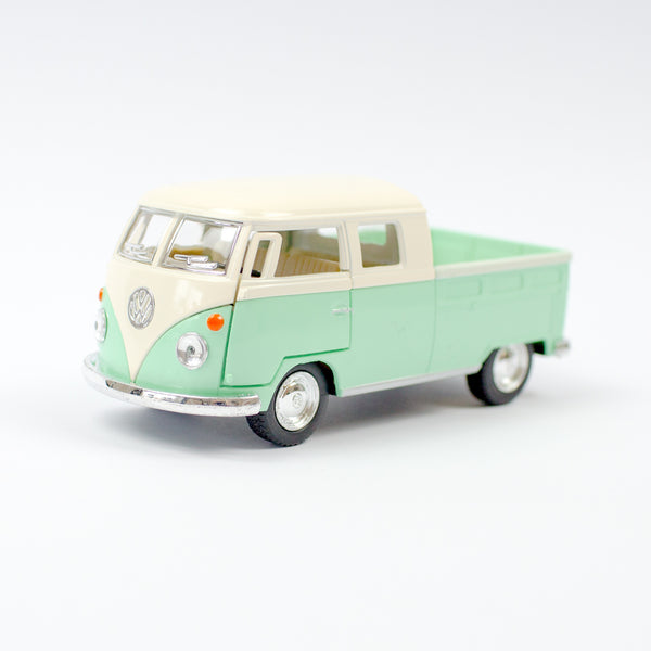 Vw Camper Pick Up Bus | Pastel Green