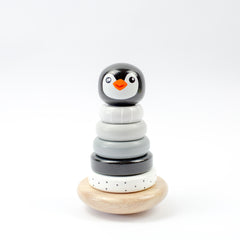 STACKING PENGUIN | MONOCHROME