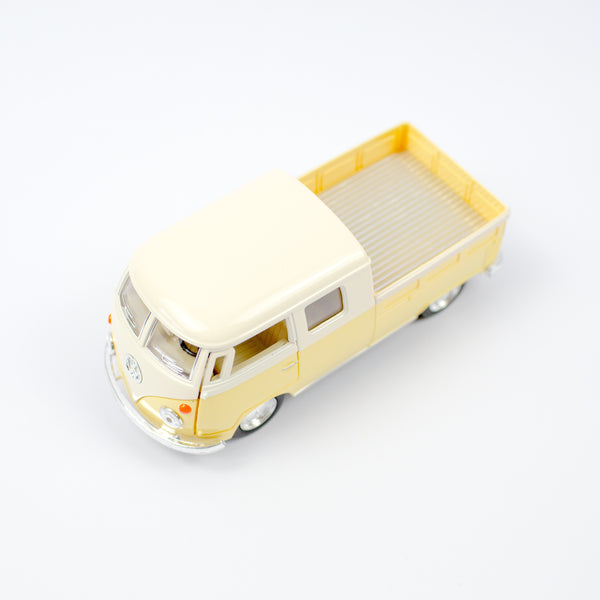 Vw Camper Pick Up Bus | Pastel Yellow
