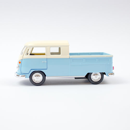Vw Camper Pick Up Bus | Pastel Blue