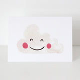 CLOUD WATERCOLOUR CARD