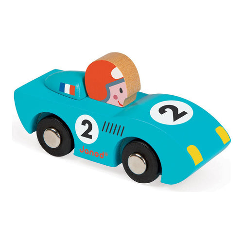 Janod Story Racing Speed Car Blue