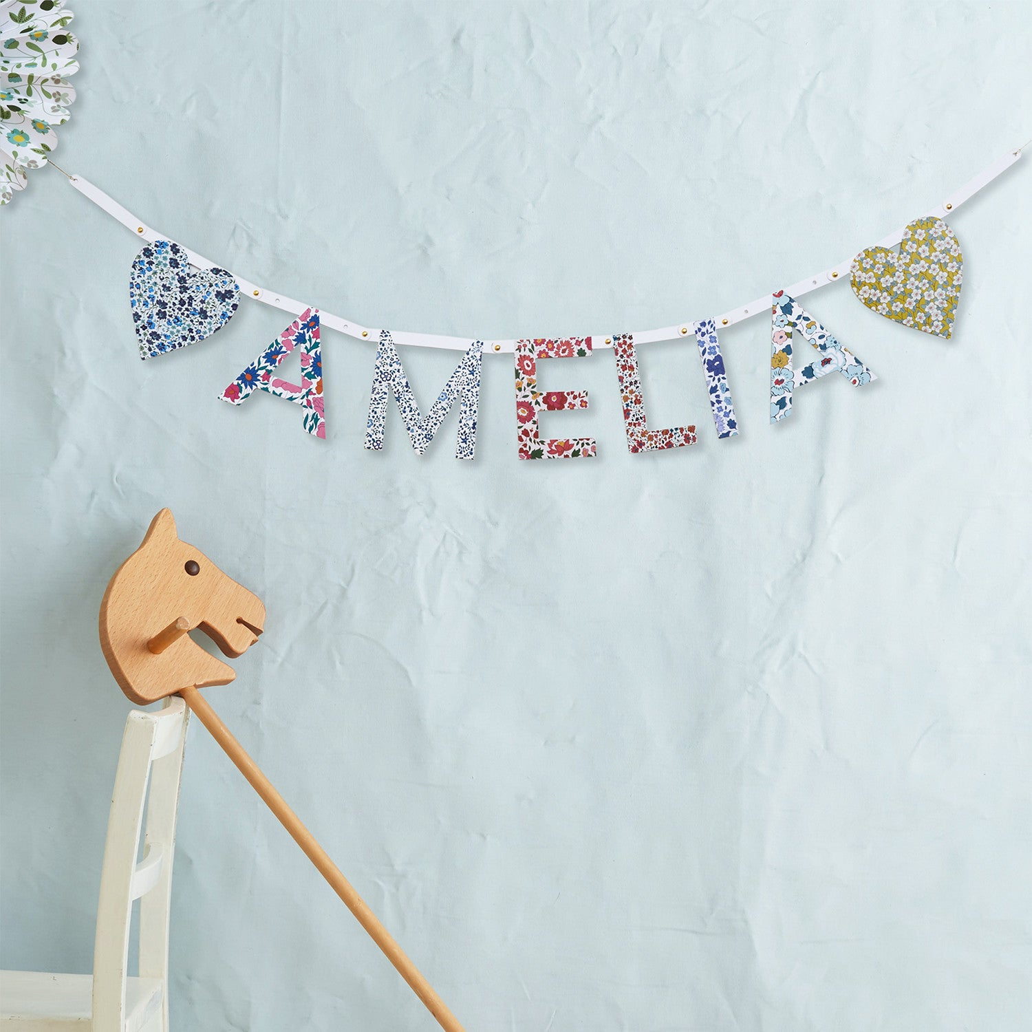 Liberty DIY Letter Garland Kit | Meri Meri