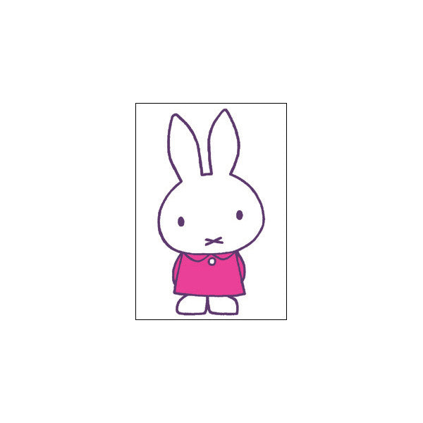 MIFFY PINK DRESS MINI CARD
