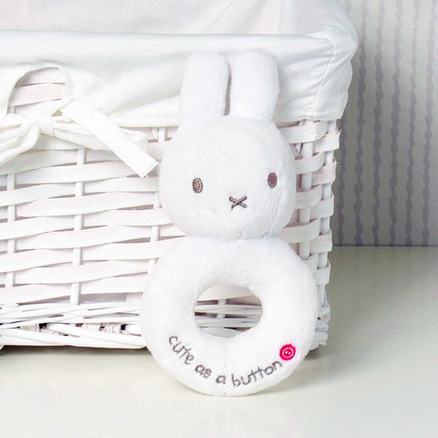 MIFFY RATTLE WHITE