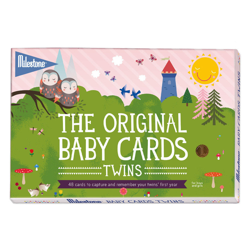 THE ORIGINAL BABY MILESTONE CARDS - TWINS