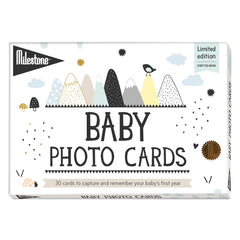 Over The Moon Baby Milestone Cards