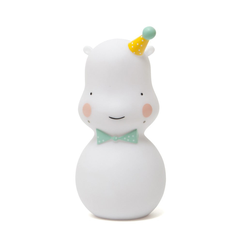 WHITE HIPPO NIGHTLIGHT