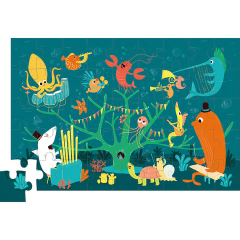 SEA ANIMALS PUZZLE IN GIFT CASE