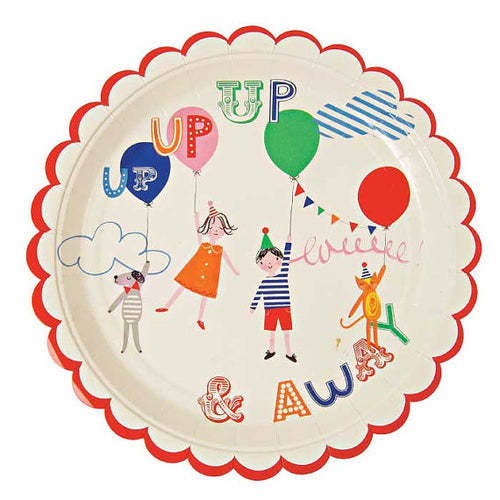 TOOT SWEET LARGE PAPER PLATES