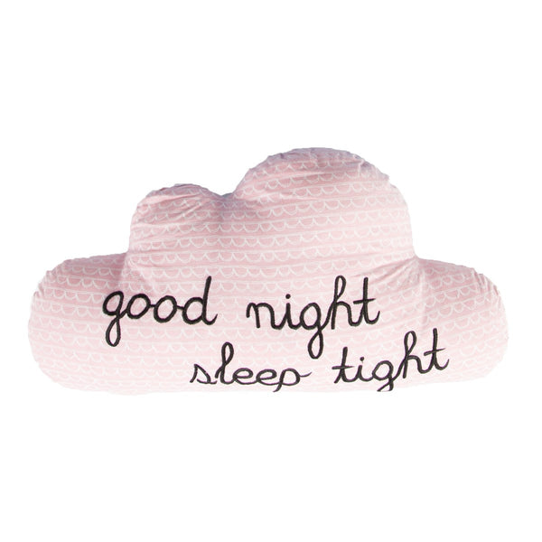 Good Night Sleep Tight Cloud Cushion by Sass & Belle