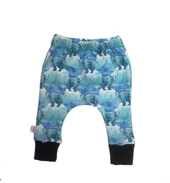 Harem Slim Pants Polar Bears