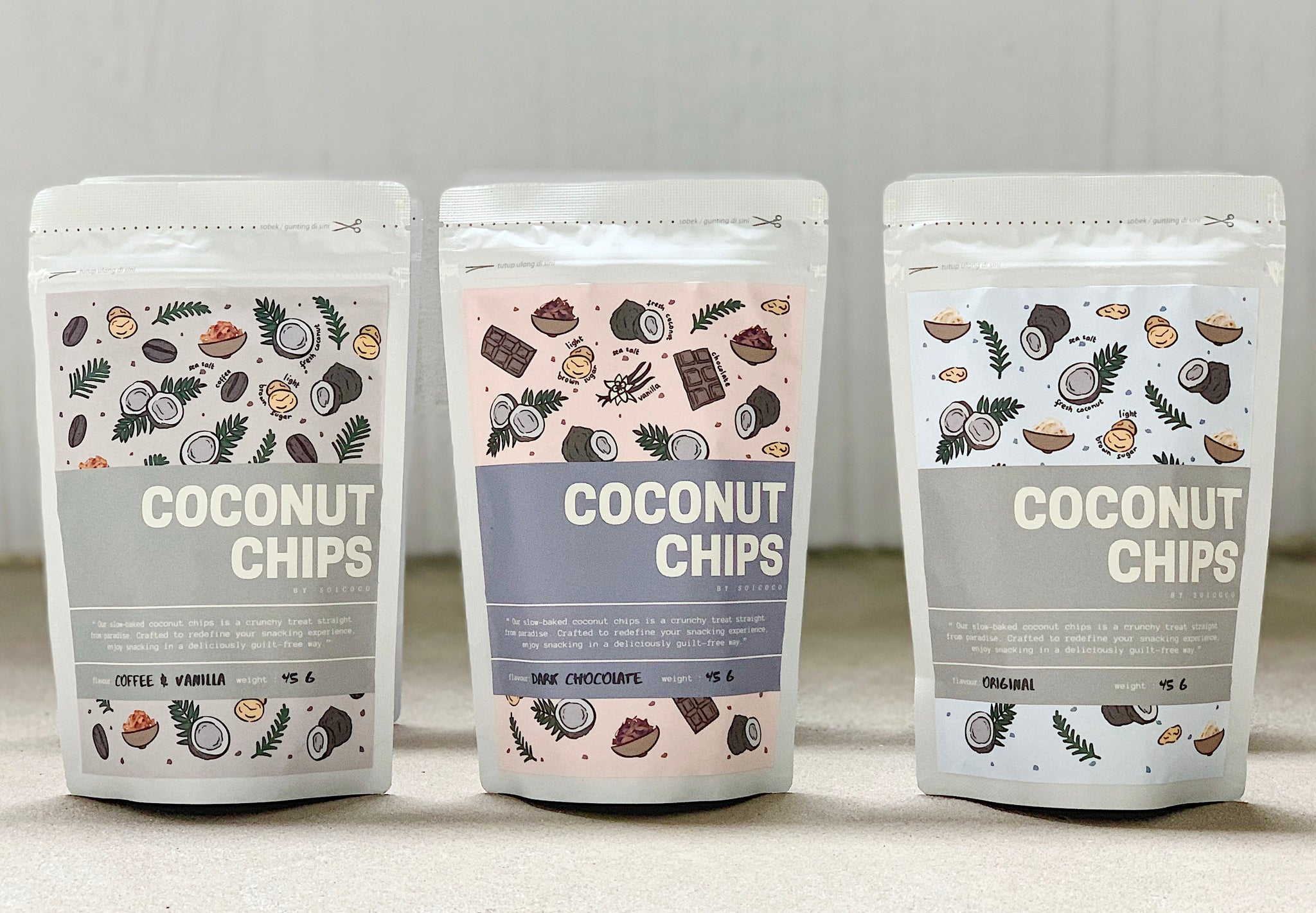 SOICOCO COCONUT CHIP (BUNDLE OF 15) - ONLINE EXCLUSIVE