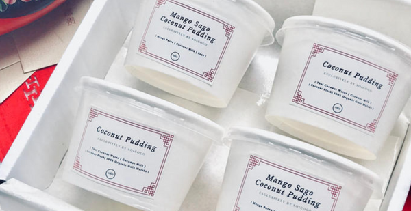 BUNDLE A (10 COCONUT PUDDINGS WITH DELIVERY) - ONLINE EXCLUSIVE