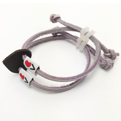 Luv Is Greater Bracelet Violet