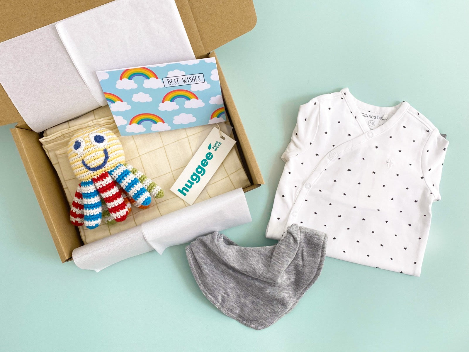 Baby gifts with card
