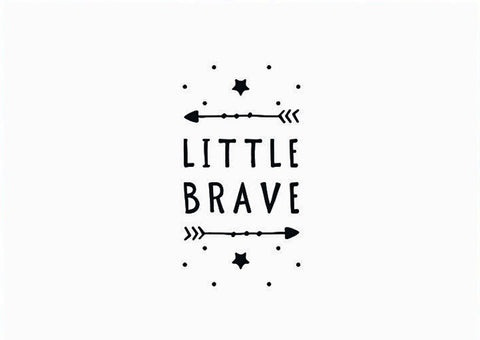 Little Brave - Premature Baby Greeting Card