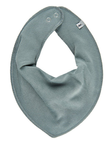 Organic Cotton Scarf Bib - Khaki Green