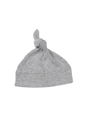 Grey Knotted Premature Baby Hat (1.5-3lb & 3-5lb)