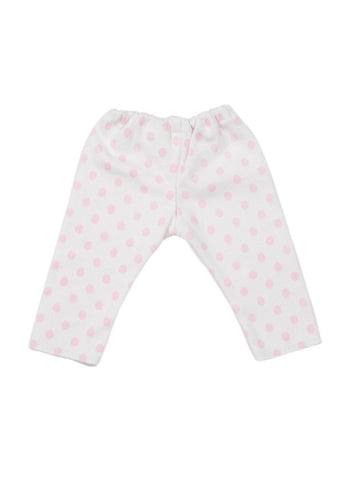 Pale Pink Spotty Premature Trouser