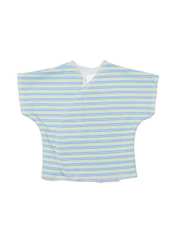 Bright Stripe Wrapover T-Shirt (Premature Baby, 1.5lb-3lb)