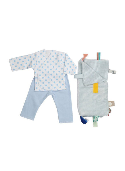Blue Premature Outfit & Comforter Gift Set