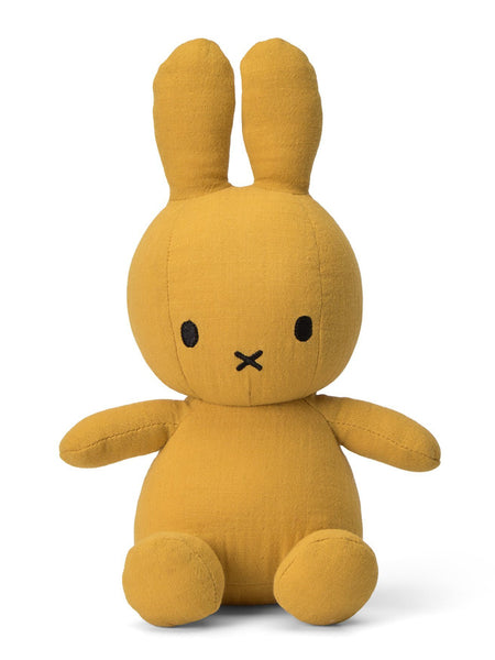 Miffy Muslin Plush Toy - Mustard Yellow